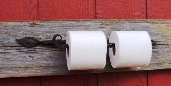 Wrought Iron Paper Towel / Toilet Paper Holder