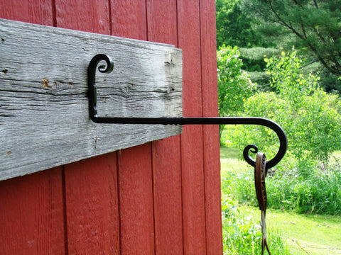 Plant Hanger, Wrought Iron