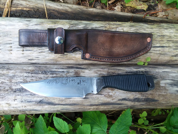 Survival Knife, Hand Forged