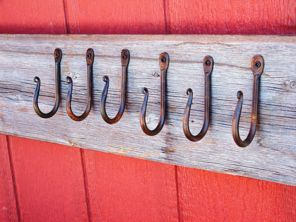 Hand Forged Wall Hooks