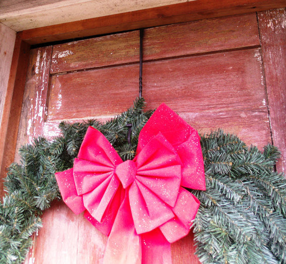 Hand Forged Christmas Wreath Hanger
