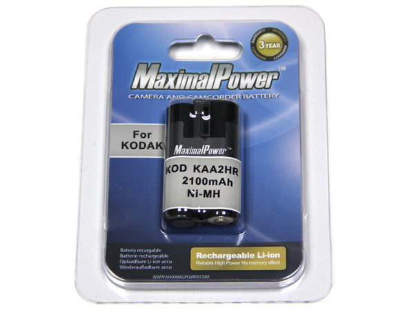 MaximalPower™ Battery Replacement for KODAK KAA2HR
