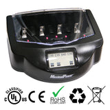 FC999 Mark I Battery Smart Charger w/ LCD Display For C/D/AA/AAA/9V/Ni-MH/Ni-CD Alk/RAM Batteries
