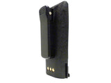 MaximalPower Li-ion RADIO Battery For MOTOROLA NTN4851 2200mAh Roundback CP150 CP200 PR400 Round Back with Belt Clip