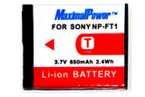 Camera Battery For SONY NP-FT1