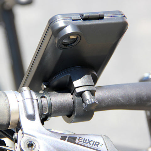For Apple iPhone 5 5s Waterproof Case Bike Handlebar Mount Bicycle Phone Holder