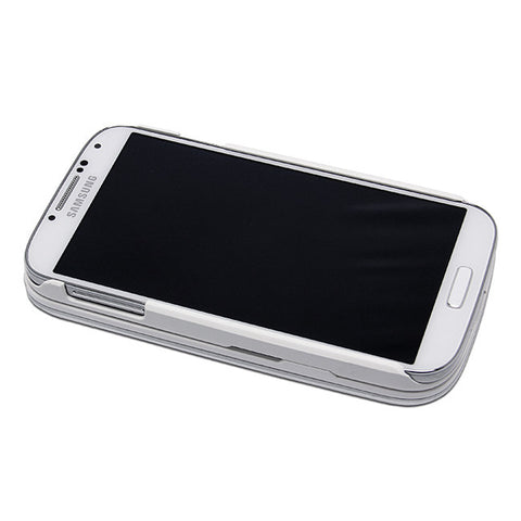 Ultra-Slim Sliding Bluetooth Keyboard with Detachable Case For Samsung Galaxy S4