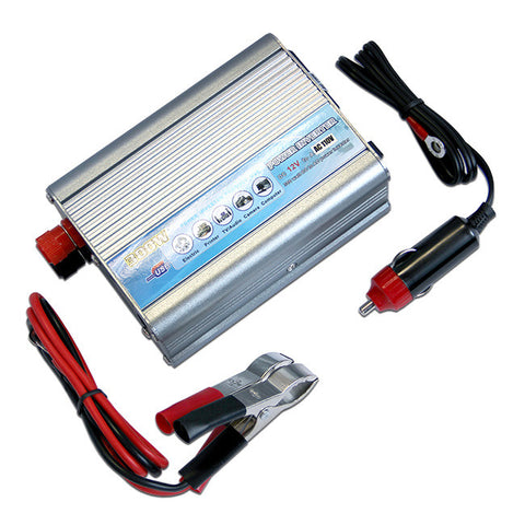 Car Power Inverter Converter 12V DC Battery to 110V AC 300W 600W Socket Adapter
