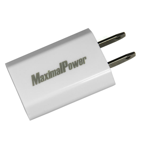 Maximalpower USB Wall Home Power Outlet Charger