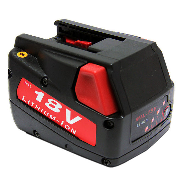 Power Tool Battery For MILWAUKEE V18 18-Volt