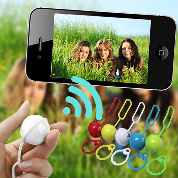 Selfie Bluetooth Magic Ball Remote Control Shutter for iPhone and Android Smartphones