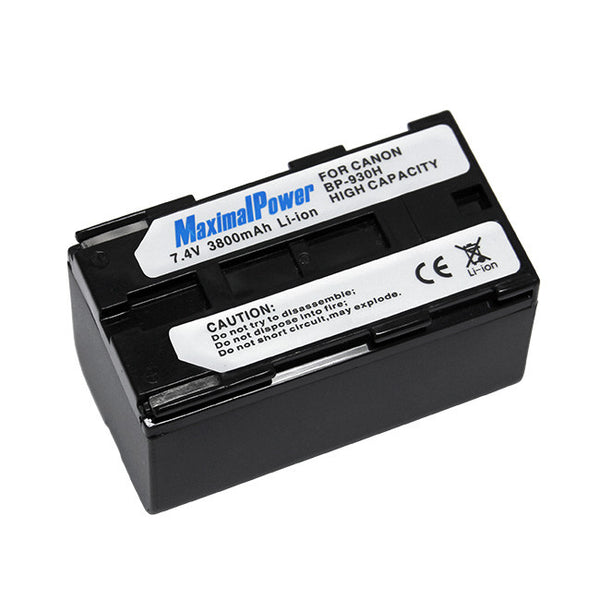 Camcorder Battery For CANON BP-930