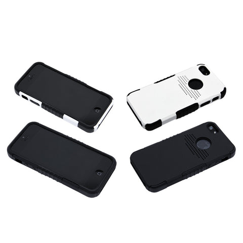 Double Layer Shockproof Hybrid Protective Case for iPhone 5 / 5s