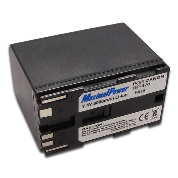 Camcorder Battery For CANON BP-970 BP970