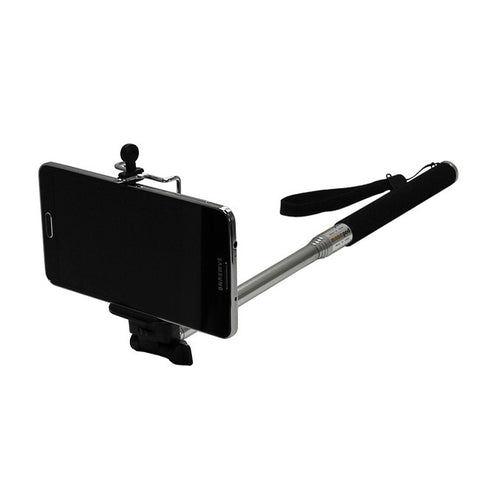"Extendable 42"" Handheld Monopod + Mount Adapter For Smartphones & GoPro HERO HD 2 3 3+"
