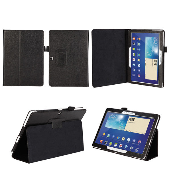 "PU Leather Folding Folio Case For SAMSUNG GALAXY Note Pro 12.2"" / Tab Pro 12.2"""