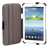 "PU Heat-Setting Leather Folio Case For Samsung Galaxy Tab 3 7.0"" Lite SM-T110"