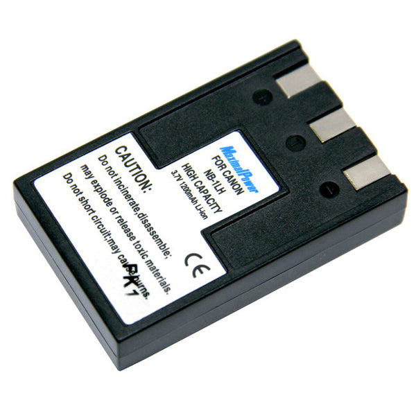 Camera Battery For CANON NB-1LH NB-1L