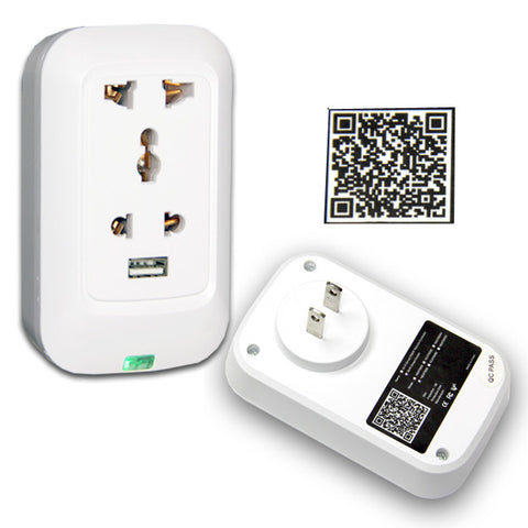 Wifi Smart Wireless Remote Control Switch Timer Power Socket works with iPhone and Android devices