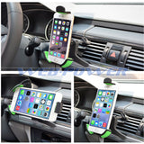 Car Air Vent Mount Phone Holder for iPhone 4 5 5s 5c 6 6+ Samsung Galaxy S3 S4 S5 S6 Edge Note 2 3 4 Edge