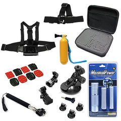 16 in 1 Accessory Combo for GoPro + Cleaning Kit