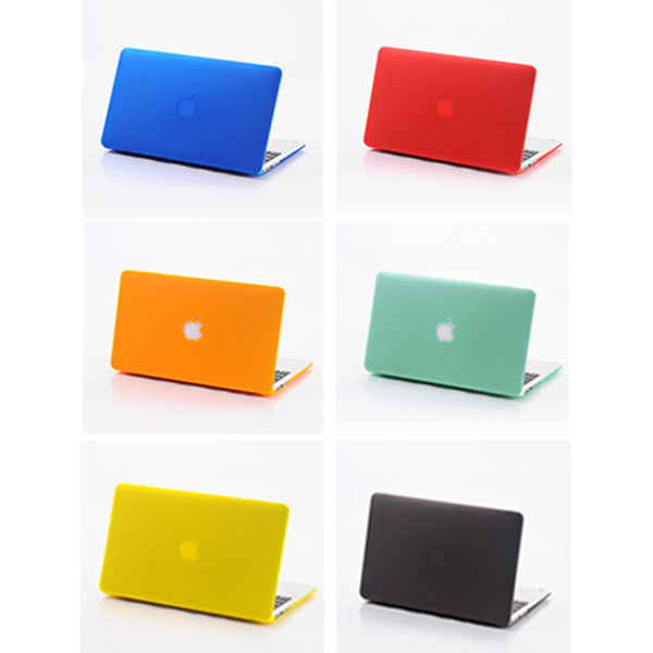 "Slim Crystal See-Thru Colored Case Cover For Macbook Air 11"" 13"" Macbook Pro 13"" 15"""