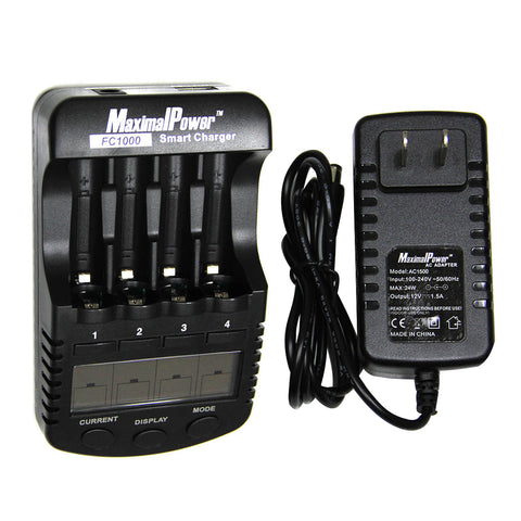 FC1000 battery charger and capacity tester w/ USB port