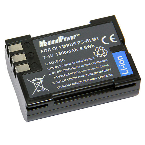 Camera Battery For OLYMPUS PS-BLM1