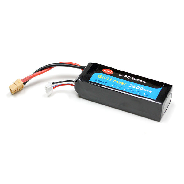 LiPo Battery 2600mAh HIGH CAPACITY 25C 11.1V For DJI PHANTOM 1 & PHANTOM FC40