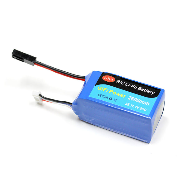 2600mAh HIGH CAPACITY BATTERY UPGRADE For PARROT AR.DRONE 2.0 & 1.0 11.1V 20C