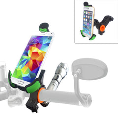 360° Rotation Smartphone Flashlight Bike Bicycle Mount for iPhone Samsung LG HTC