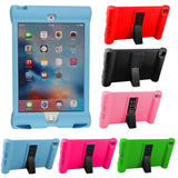 Shock Impact Proof Silicone Cover for APPLE iPad Mini4 Mini 4 Kids Rubber Case