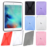 Premium Soft Skin TPU X-Pattern Slim Protective Case for Apple iPad Pro 12.9""