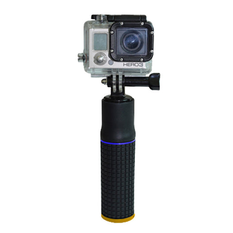 2-in-1 Hand Grip Pole with 5200mAH Power Bank Charger for GoPro Hero 2 3 4 iPhone Samsung Galaxy