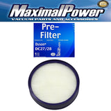 MaximalPower DC27/DC28 Washable & Reusable Post HEPA Filter To Fit Dyson Vacuums