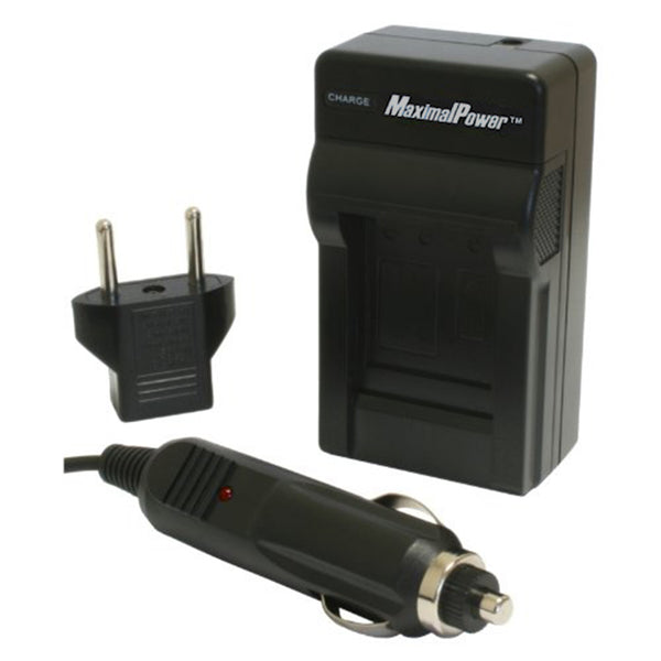 MaximalPower Power Charger for Canon LP-E17, LC-E17 EOS 77D, EOS 750D, EOS 760D, Kiss X8i