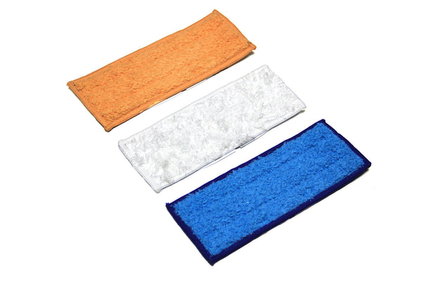 Pack of 3 Reusable Wet/Dry Mopping Pads for iRobot® Braava Jet™
