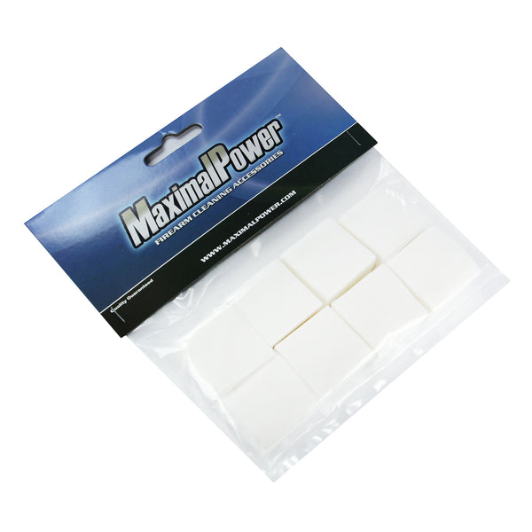 "MaximalPower 1-1/8 Non Woven Firearm Cleaning Patches for 0.220"" to 0.270"" Bore Firearm Cleaning"