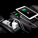 DC/AC Car Inverter with 2 USB Plugs/ 2 AC Plugs/ & Battery Voltage Display