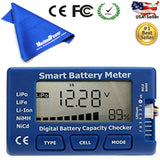 Maximal 5-in-1 Battery Meter Intelligent Cell Meter Digital Battery Checker