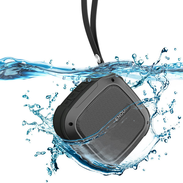 Maximalpower Portable Bluetooth Wireless Speaker IPX7 Waterproof Swim Shower for indoor-outdoor Travel Beach 8 hours play time 5W audio driver with Powerbank