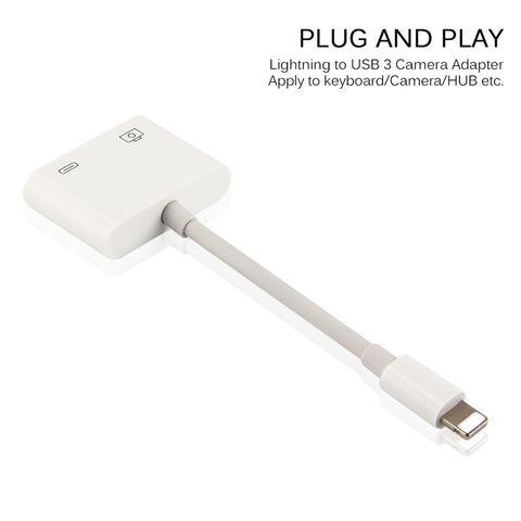MaximalPower™ Lightning to USB 3.0 Camera Adapter for iPhone