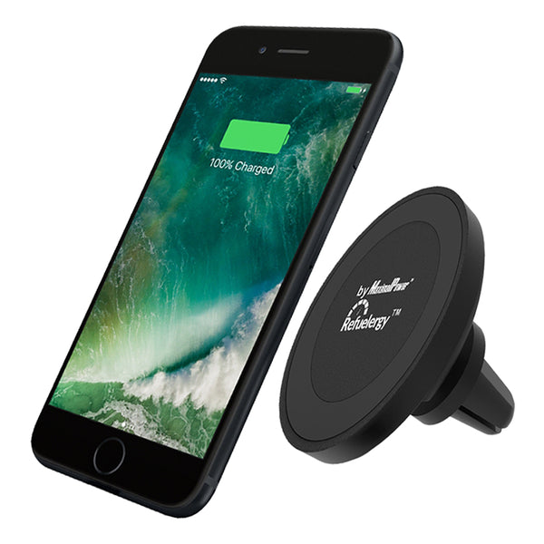 MaximalPower™ Wireless Charger Magnetic Car Mount Holder for iPhone X/8, Galaxy S8 / S8+, Note 8