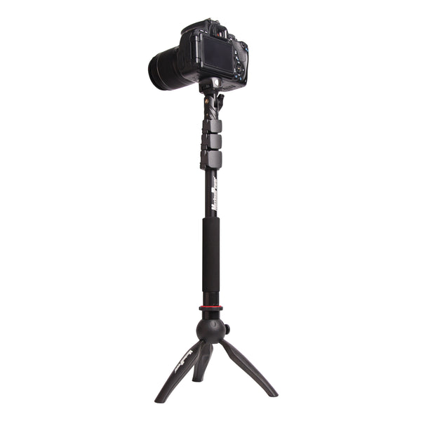MaximalPower™ Camera Mini Tripod PLUS Monopod with Phone and GoPro Holder
