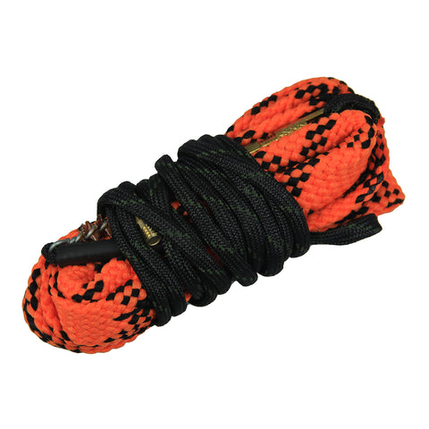 "Circular Bore Snake-Rope Cleaning Kit .22 cal for Rifle/Pistol/Handgun Wide Chamber Entrance W>2 1/2"" (63 mm) + 1 Free Magnetic Organizing Clip"
