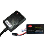 GiFi Power® 1500mAh High Capacity Battery & Charger For PARROT AR.DRONE 2.0 & 1.0