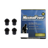 MaximalPower 2-Piece BLACK Silicone Earpiece Ear Tip For Two-Way Radios