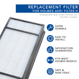 Replacement Filter for Honeywell Air Purifier HRFH1 (Filter H)