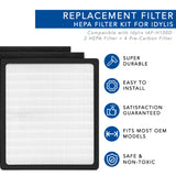 Replacement Air Filter for Idylis IAF-H100D IAP-10-280 Air Purifiers