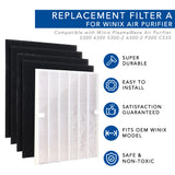 MaximalPower Replacement Filter for Winix 115115 Replacement Filter A for C535, 533-2, P300, 5300